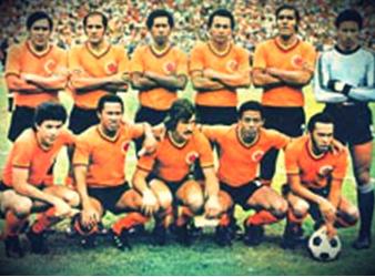 Selección de Colombia 1975; subcampeón de la Copa América. Foto: miseleccion.co.