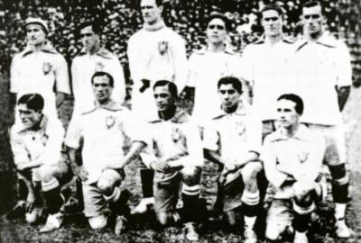 Selección de Brasil en 1919. Foto: fansport.com.mx
