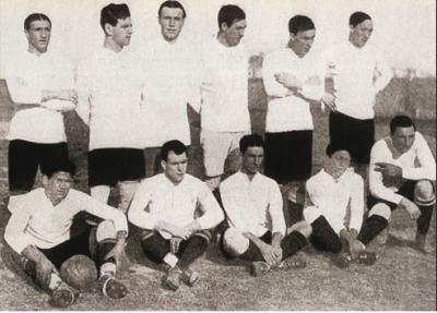 El equipo de Uruguay, campeón de la primera edición del torneo. Foto: Taringa.net.