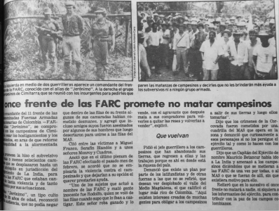 Vanguardia Liberal, junio 19 de 1987