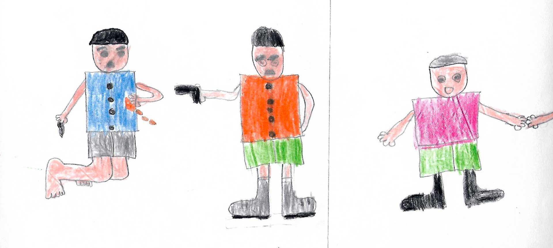 Dibujos De Paz Y Violencia En El Guaviare Cerosetenta