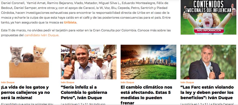 Captura de la página El cuento sobre una mosca que tienen revolucionadas las redes sociales, como existía el pasado 24 de febrero.