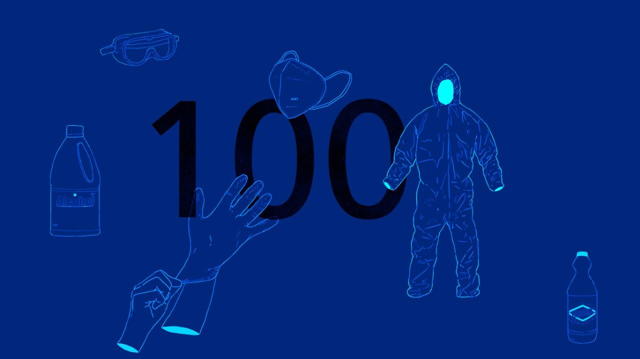 Detrás de: 100 días de cuarentena
