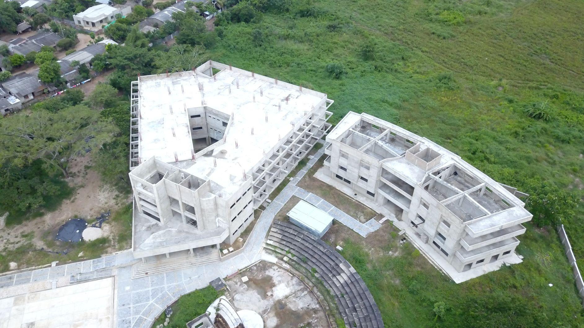 Universidad de Córdoba en Sagahún en construcción | Crédito: La Liga Contra el Silencio.